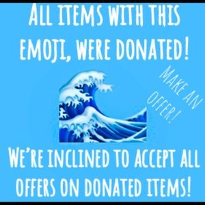🌊 We Accept Offers On Donated Items! 🌊